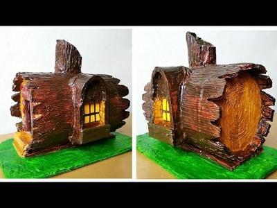 How to make beautiful fairy house very easy