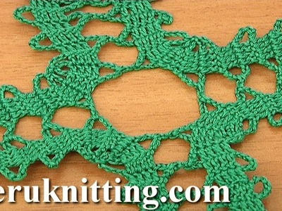 How to Make Bruges Lace Tutorial 3