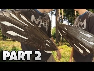 How to make the new shield of the Captain America PART 2 - Shield Captain America Infinity War - DIY