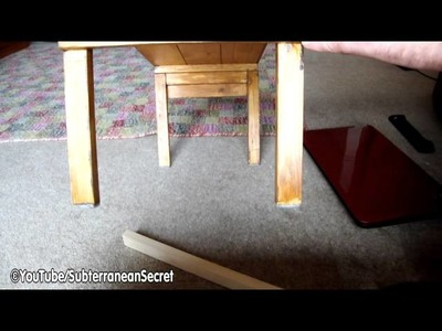 How to Make Yourself a Simple Wooden Laptop Table