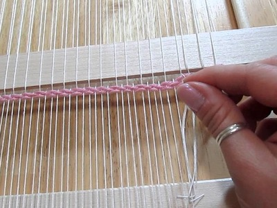 How to weave on a loom part 3: removing the weaving