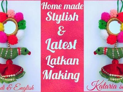 Latest design latkan making at home