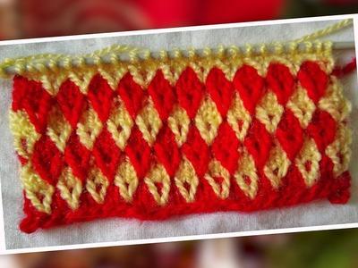 Multi color Sweater Design in Hindi.