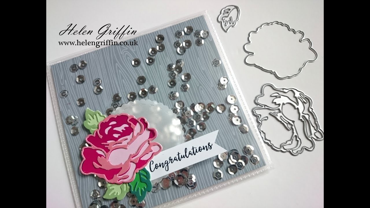 Pocket Shaker Card With Altenew Roses | Tutorial