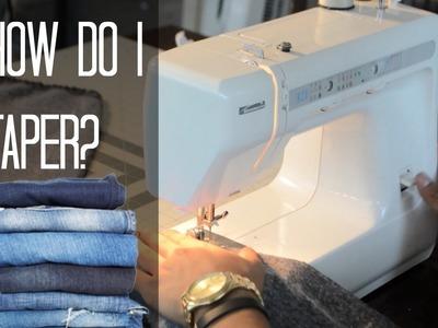 Sewing Basics: How Do I Taper Pants?