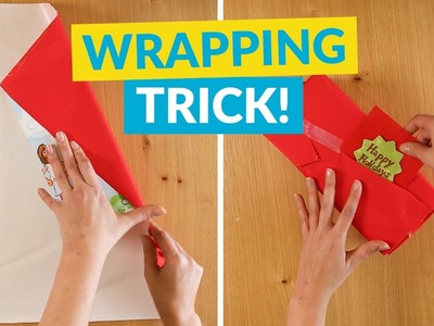 The Quickest Way To Wrap Presents!