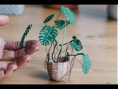 Tiny Terrariums With Miniature Paper Plants, Blooming Cacti And Flowers | Muhammad Waqas
