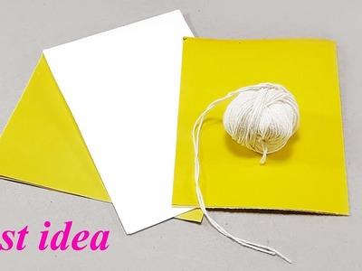 Best easy craft idea | DIY arts and crafts | Unique home deco DIY idea