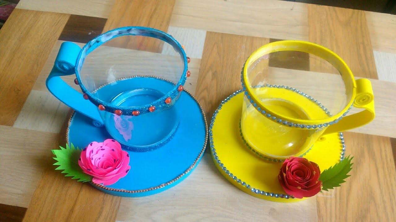 Best Out Of Waste | Craft Idea | Home Decor Ideas | Tutorial | By Punekar  Sneha