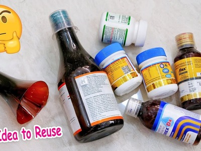 Best out of waste crafts idea of medecine Bottle | DIY Projects craft | Artkala 463