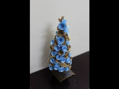 Blue tree - Paper craft