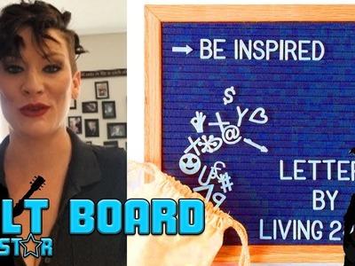 Craft Ideas - Grey Felt Board Review by RockStar Reviews!