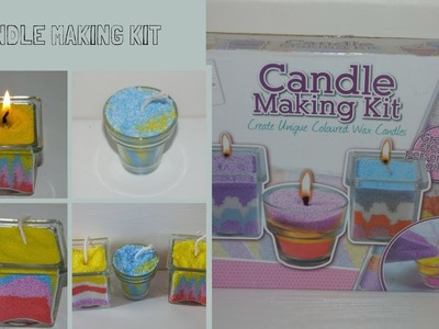 Create Your Own Candle Making Craft Wax Kit