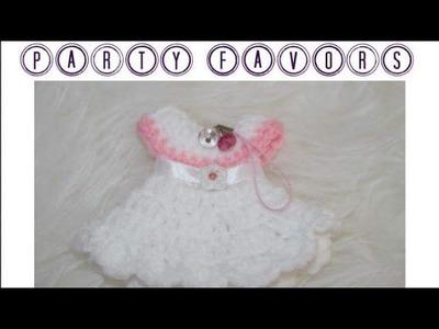 Crochet Mini Dress Adorable Party Favors