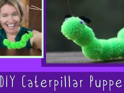 DIY Caterpillar | Puppet for Kids | Art and Craft