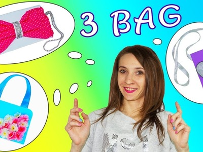 DIY crafts | How to make bag | 3 diy bag tutorial | Julia DIY