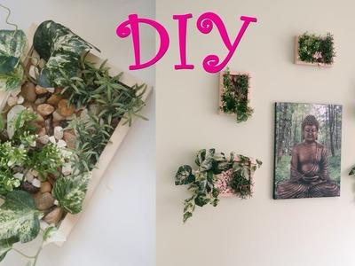 DIY Faux Vertical Gardens   Home Decor   Plant Picture Frames