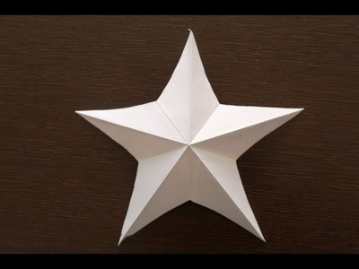 DIY - How to Make Simple & Easy Paper Star | DIY paper Craft Ideas.