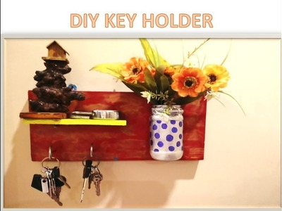 DIY keyholder | how to make key holder from waste| best out of waste|