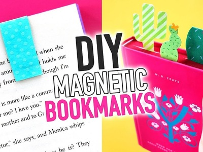 DIY Magnetic Bookmarks ~ Easy Paper Craft - HGTV Handmade
