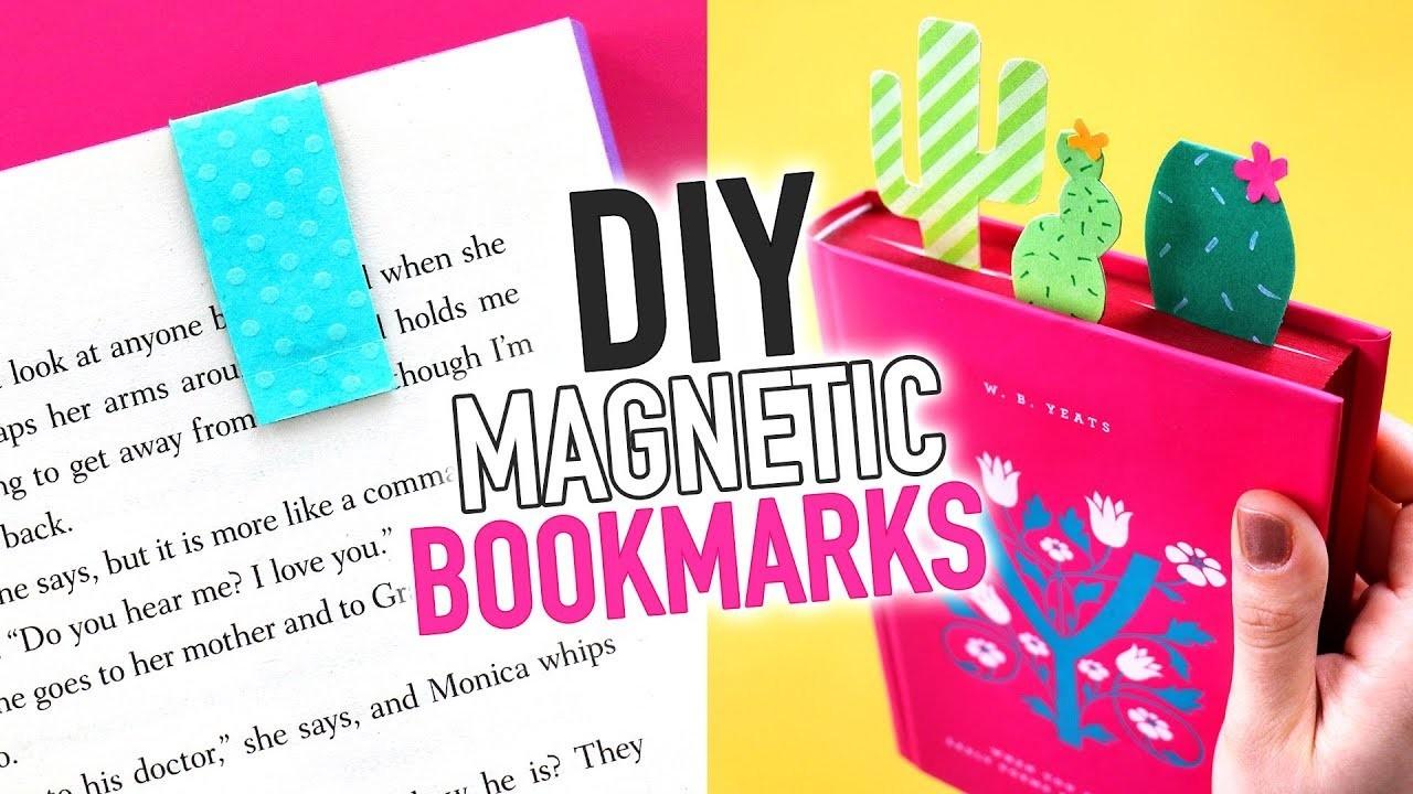 DIY Magnetic Bookmarks ~ Easy Paper Craft - HGTV Handmade
