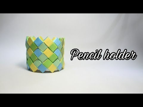 DIY pencil holder, DIY paper art, DIY ideas, art o craft