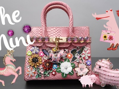 DIY | The Pink Mini Patch Bag | BellaGemaNails