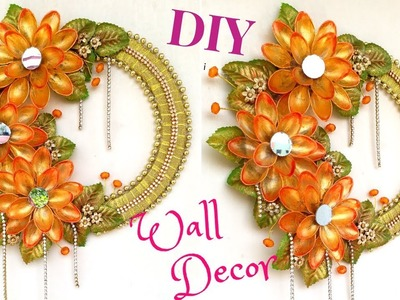DIY wall decor ideas for living room | DIY wall decor for bedroom easy | Best Out Of Waste!