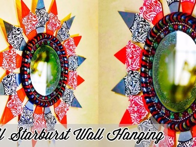 DIY Wall Hanging | wall hanging craft ideas | craft ideas for home decor | disposable plates crafts