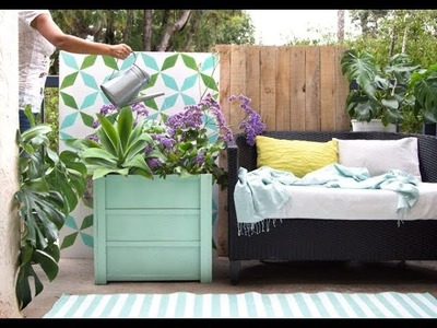 DIY Wood Planter Boxes ( $10 in 1 Hour! )