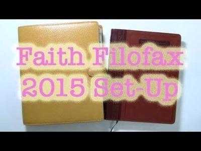 Faith Filofax 2015 Set-Up