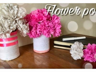 Flower Pot (Best out of waste)   Home Decor   Mass DIY & Craft