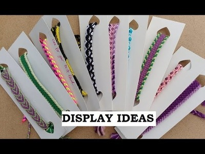 How to Make a Low Cost Display for Handmade Bracelets [for Craft Stalls.Fairs.Gifts etc]