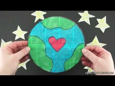 How to Make a Newspaper Earth Craft