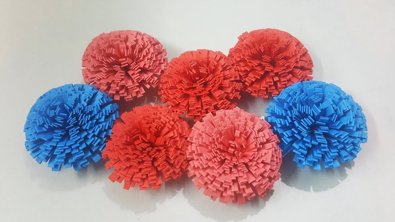 How To Make A Paper Flower Nice Flower Paper Craft Ideas 102