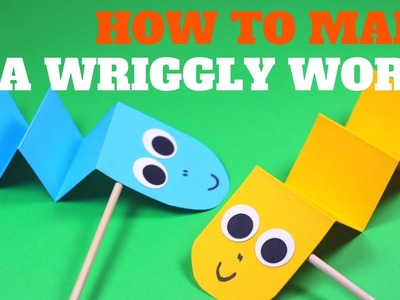 How to Make a Wriggly Worm | Fun Paper Craft Idea