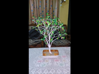 How to make Decorative Tree. Bonsai Tree at home, DIY | ,step by step easy trick.