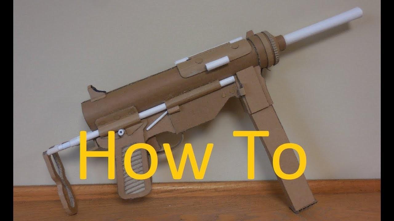 How to make my cardboard M3A1 Grease Gun