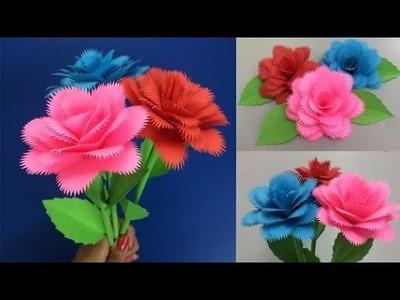 Rose how to make paper rose making paper flowers step by step diy how to make paper rose making paper flowers step by step mightylinksfo