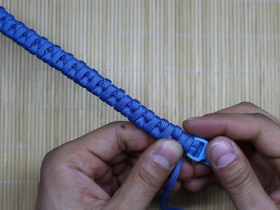 How To Make Paracord Bracelet Borneo Fishtail DIY Tutorial