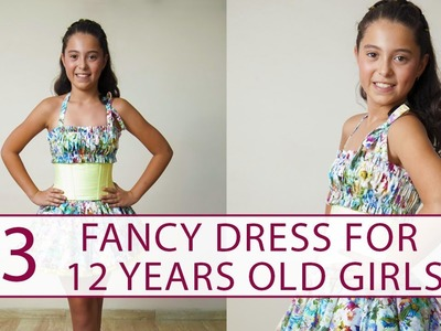 How to sew a dress for 12 years old girl? DIY tutorial 3