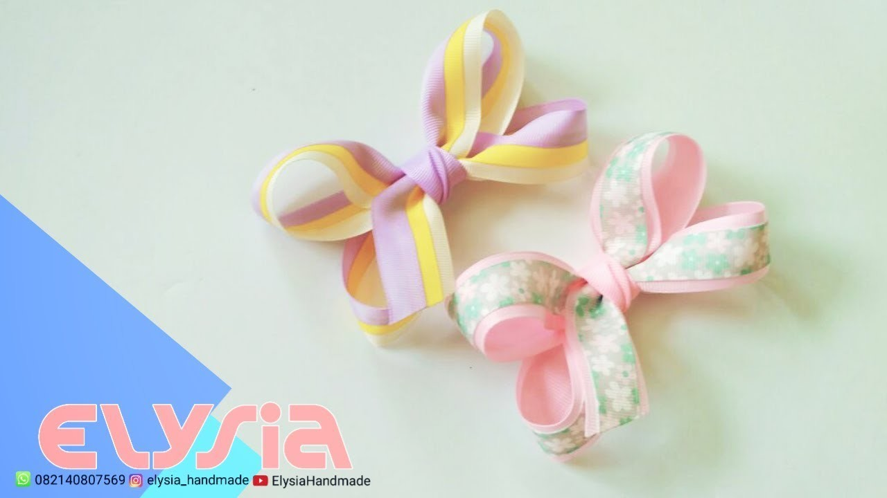 Laço Boutique Grosgrain #Ribbon 2,5 cm | DIY by Elysia Handmade
