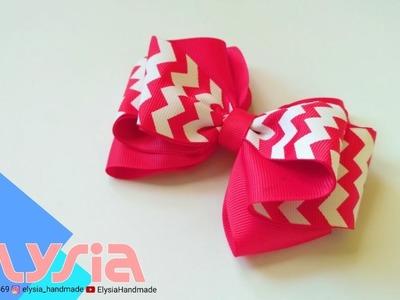 Laço Karen ???? Karen #Ribbon Bow ???? DIY by Elysia Handmade