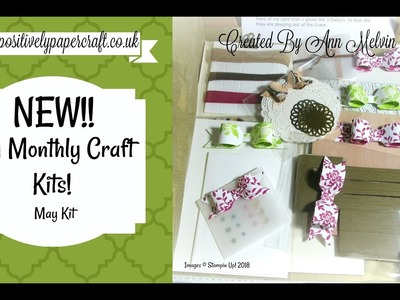 My New Monthly Craft Kit!!