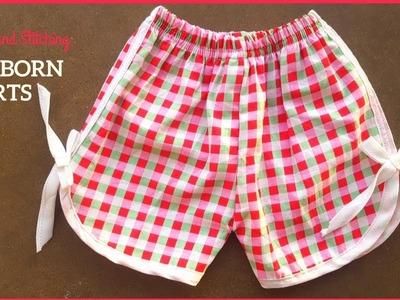 Newborn Shorts | DIY Shorts Cutting and Stitching in Hindi.Urdu
