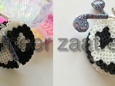 Organize Your Earphones. Diy Perler Beads Craft