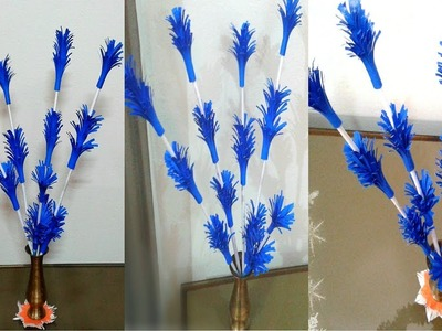 Paper Flower Stick 1 - DIY - Paper Craft - Handcraft