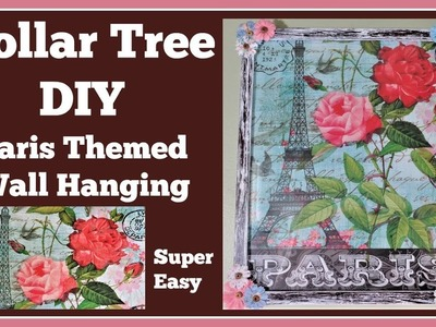 Paris Themed ???? Dollar Tree DIY
