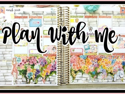 Plan With Me. Spring. Erin Condren Life Planner