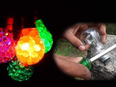 പാഴായി എന്ന് കരുതിയതൊന്നും പാഴല്ല.  !!!! | Bulb craft |